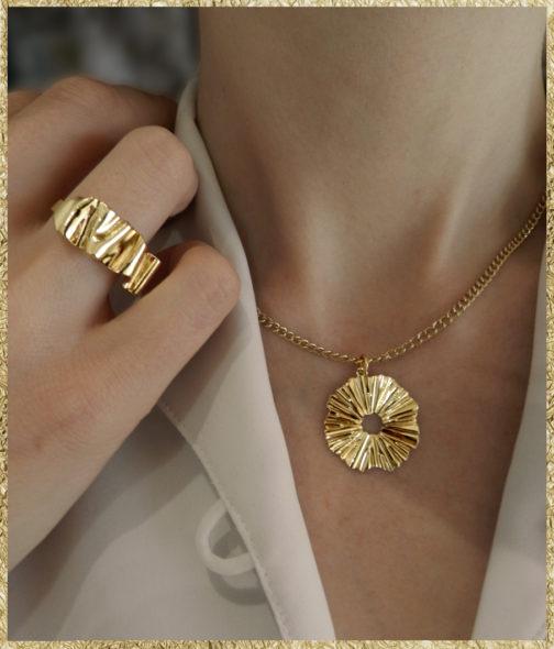 Médaille Sunshine femme